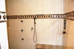 Pershing Blvd Master Shower